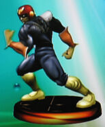 Captain Falcon smash trophy (SSBM)