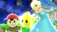 Ness and Rosalina