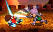 Swordfighter vs. Gunner