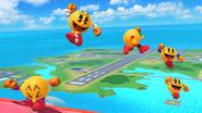 SSB4-Wii U Congratulations Pac-Man Classic