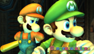 Luigi Congratulations Screen All-Star Brawl