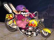 Wario Bike Wario Man SSBB