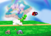 Yoshi Forward throw SSB