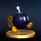 Bob-omb Trophy - Super Smash Bros. Brawl