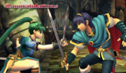 Marth Congratulations Screen All-Star Brawl