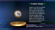 Franklin Badge SSBB