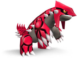 Groudon brawl