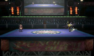 Boxing Ring Omega (3DS)