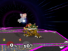 Bowser Back throw SSBM
