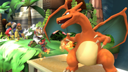 SSB4-Wii U Congratulations Charizard All-Star