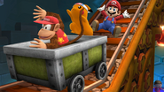 SSB4-Wii U Congratulations Diddy Kong All-Star