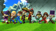 SSB4-Wii U Congratulations Mii Fighter All-Star