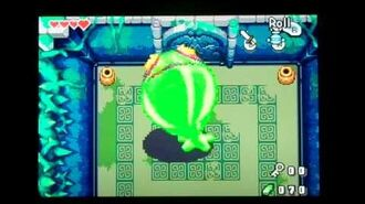 The Legend of Zelda the Minish Cap Giant Green ChuChu Boss Battle ( No Damage )