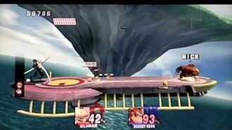 Baseball Boy and Nick Plays Super Smash Bros Brawl Subspace Emissary on Intense Mode Co op part 51