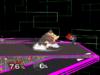 Donkey Kong Floor attack (front) SSBM