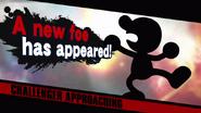 Mr. Game & Watch challenger Wii U