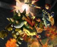Roy's Blazer attack