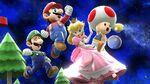 SSBU Screenshot - Team Mario