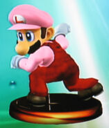 Luigi smash 2 trophy (SSBM)