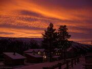 Sunset at hotel Hergingen.jpg