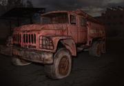 ZIL-131 fire