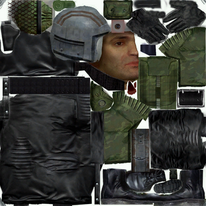 SHOC Old Military Stalker Texture