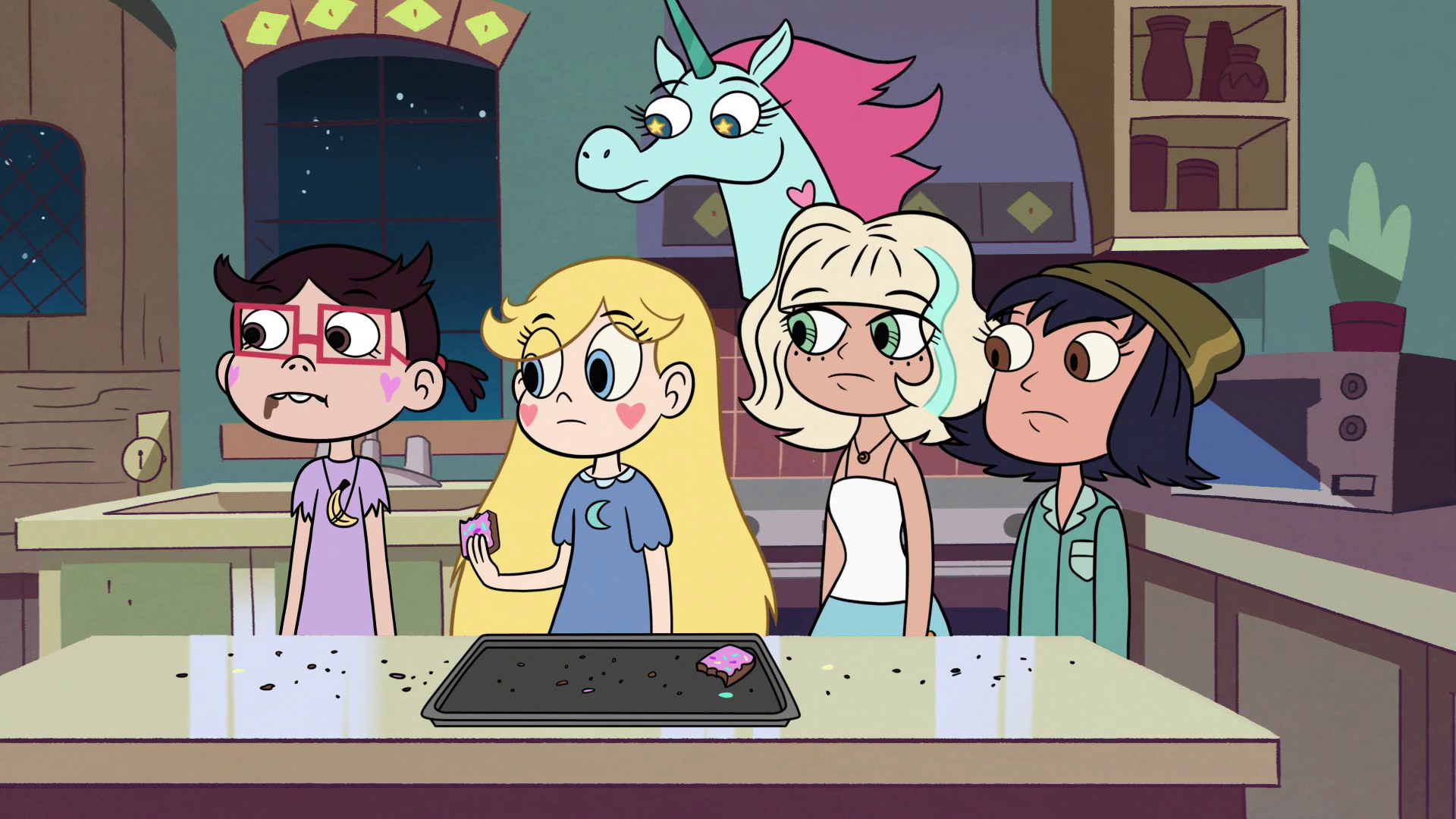 Star vs. the forces of evil between friends