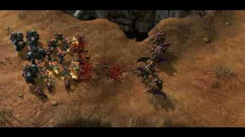 StarCraft II Death Animations