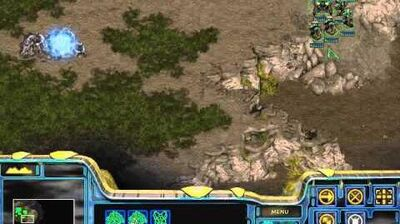 Starcraft Original Protoss - Campaign Mission 2 Into the Flames Walkthough Lets Play