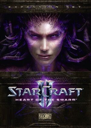 Heart of the Swarm SC2 Cover1