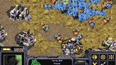 Starcraft Original Terran - Campaign Mission 5 Revolution Walkthough Lets Play