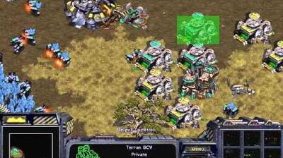 Starcraft Original Terran - Campaign Mission 6 Cinematic Norad II Walkthough Lets Play