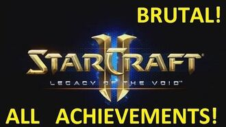 Starcraft 2 - THE HOST - Brutal (All Achievements) LOTV 18