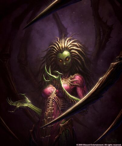 File:InfestedSarahKerrigan SC2 Art1.jpg