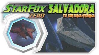 Star Fox Zero - Salvadora To Fortuna Fichina! Wii U Gameplay Walkthough With GamePad