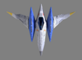 SFZ Arwing Top Down