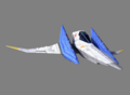 SFZ Arwing Side Right
