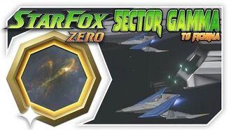 Star Fox Zero - Sector Gamma To Fichina! Wii U Gameplay Walkthough With GamePad 2
