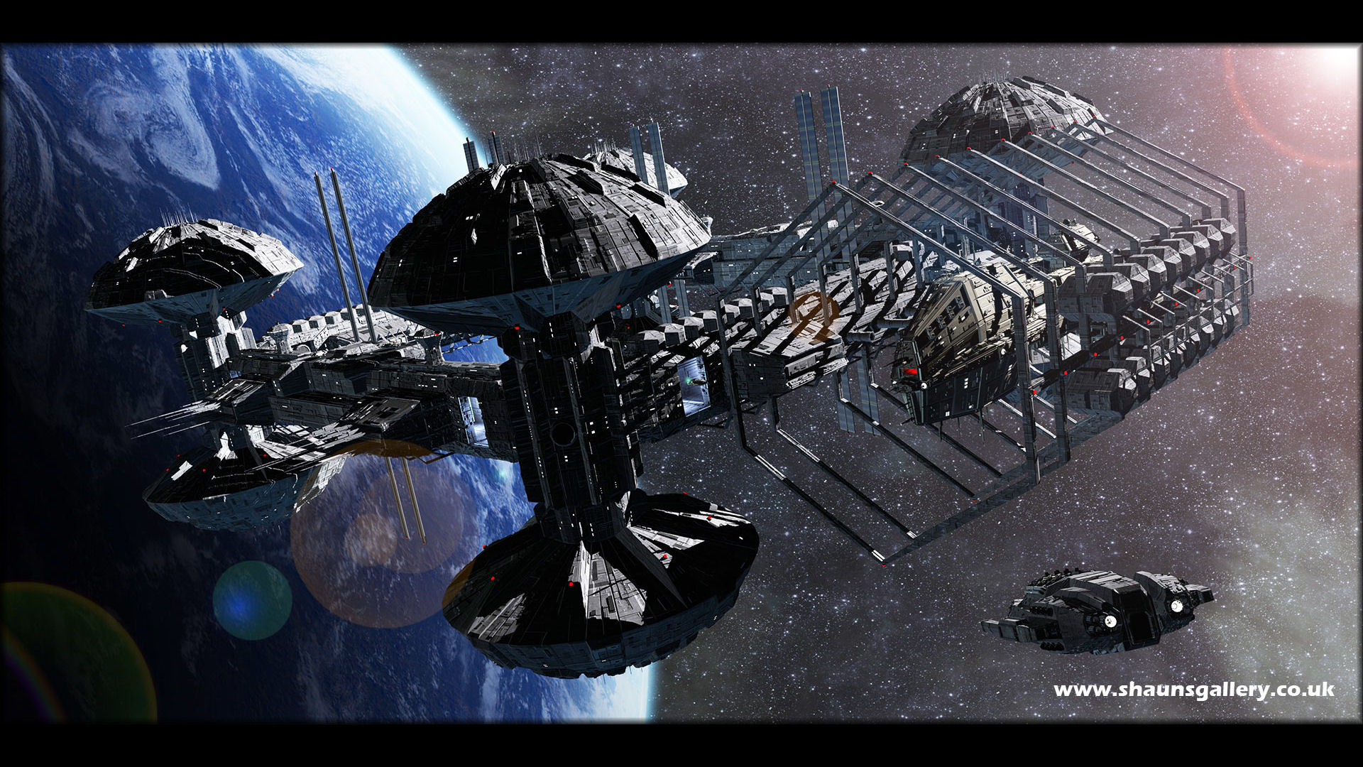 sci fi space stations - photo #30