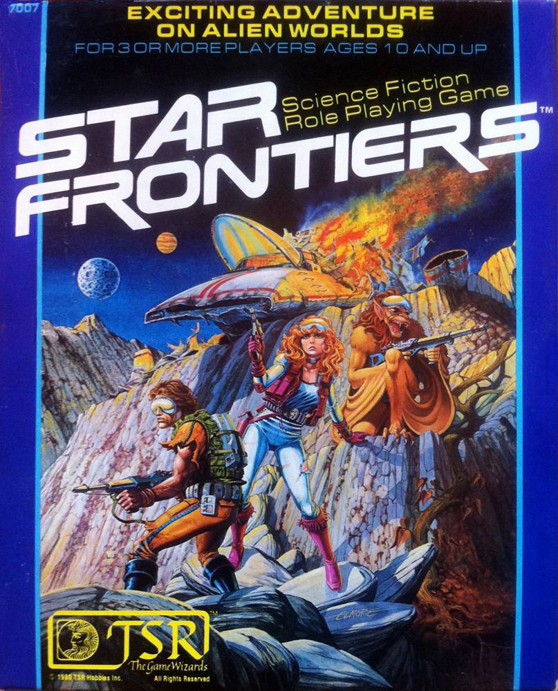 Original Star Frontiers boxed set cover