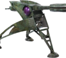 Staff cannon