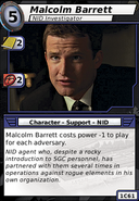 Malcolm Barrett (NID Investigator)