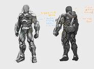 Inner suit conceptual design