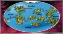 Malcor III surface map