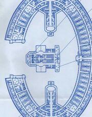 Shuttlebay, upper main (deck 3), Galaxy-class