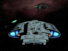 USS Avenger dorsal