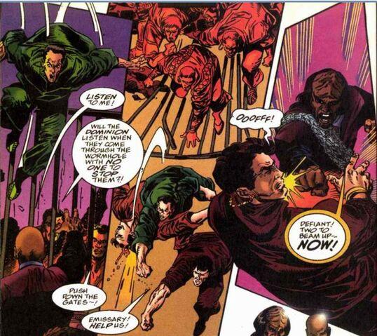 File:Bajoran riot Marvel.jpg