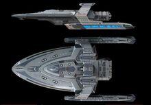 Merian class starship