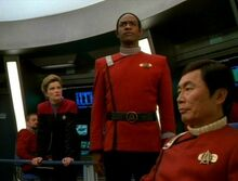 Tuvok on the Excelsior