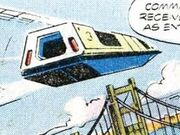 Air tram Marvel Comics